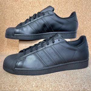 Adidas Originals Superstar Casual Black Mens Shoes